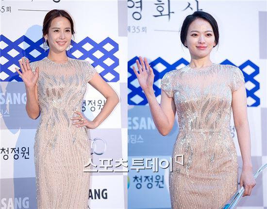 배우 조여정(왼쪽), 천우희