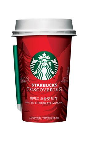 스타벅스와 동서식품이 크리스마스를 맞아 시즌 한정판 '화이트 초콜릿 모카'를 선보였다.