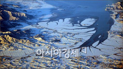 [포토]꽁꽁 얼어버린 대한민국