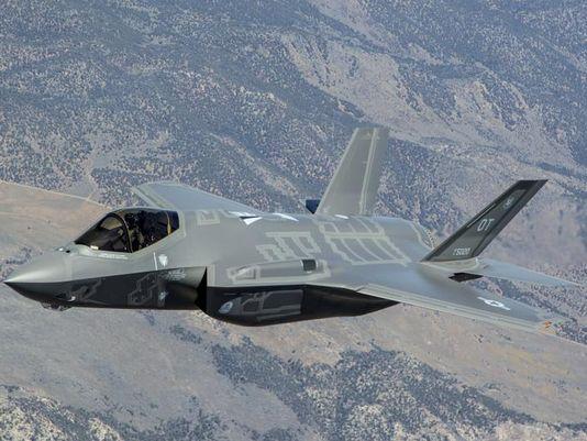 미국이 주도로 개발한 최신예 F35 스텔스 전투기. 사진=맥도널 더글러스
