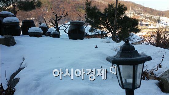 ▲우리나라에 최근 눈이 많이 내렸다.