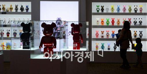 [포토]어른들의 장난감 '베어브릭' 전시회