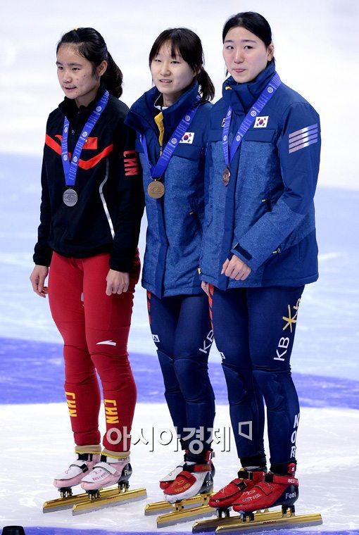 [포토]최짐정-노도희, '금-동메달 차지했어요'