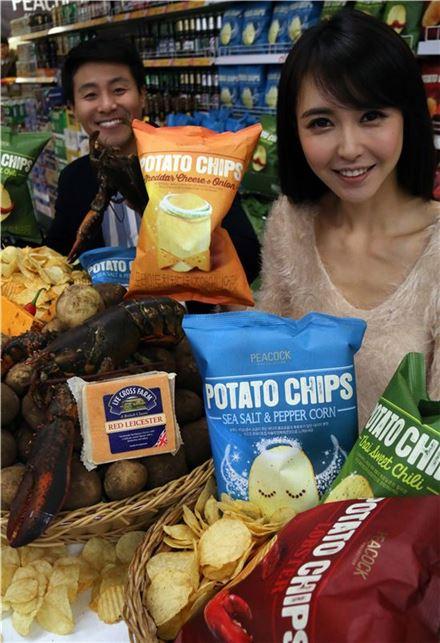 이마트, 이색 감자칩 출시