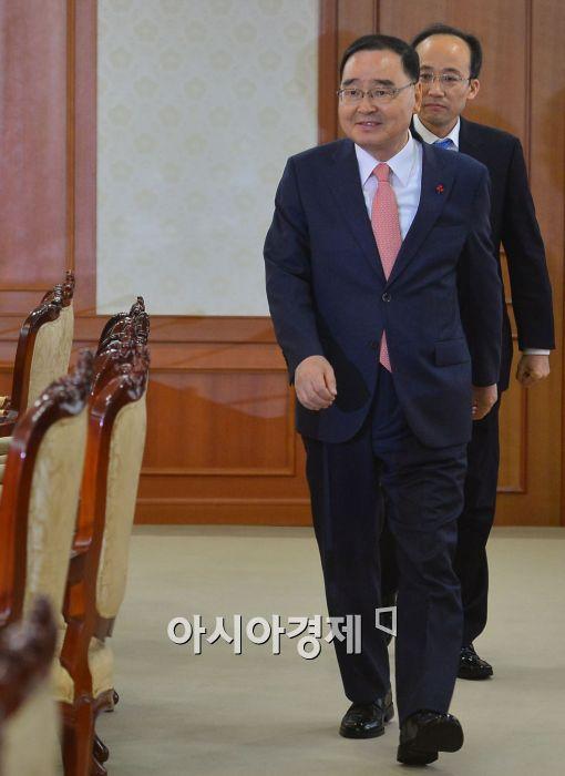 [포토]입장하는 정홍원 국무총리