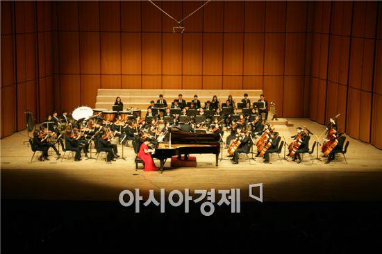 지난해 열린 전남대학교 송년음악회