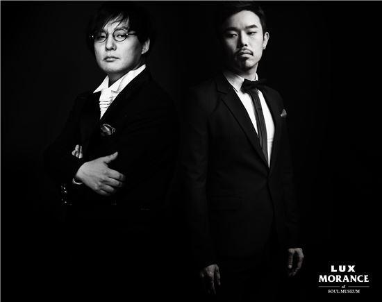 고 신해철과 이현섭(오른쪽)
