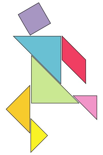 칠교놀이(tangram) 출처 : 위키피디아