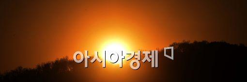 [포토]'2014년 마지막 일몰'