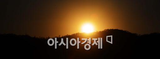 [포토]'2014년의 마지막 일몰의 모습'