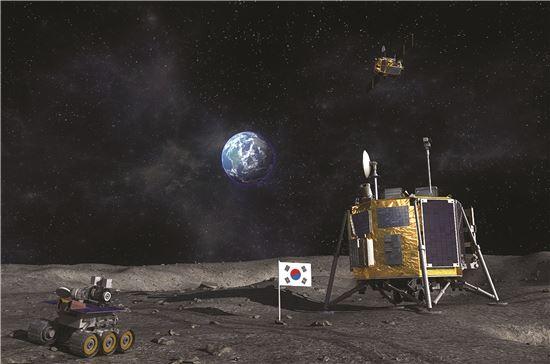 ▲우리나라는 2020년 달 탐사선을 보낼 예정이다.
