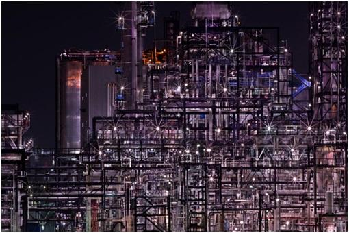 조춘만, '석유화학', 2014년.