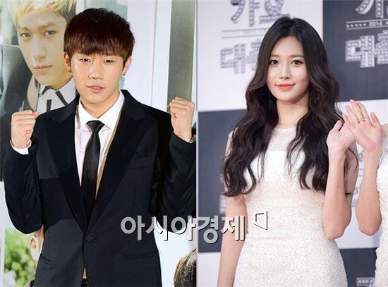 성규(좌)와 유라(우)