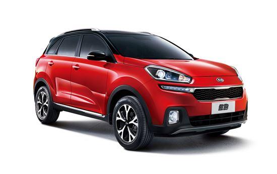 기아차의 중국 전용 소형 SUV 'KX3'