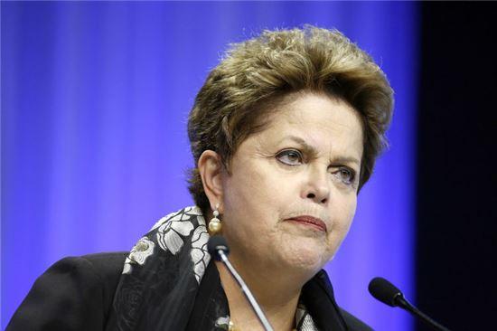 지우마 호제프 브라질 대통령. 사진=블룸버그