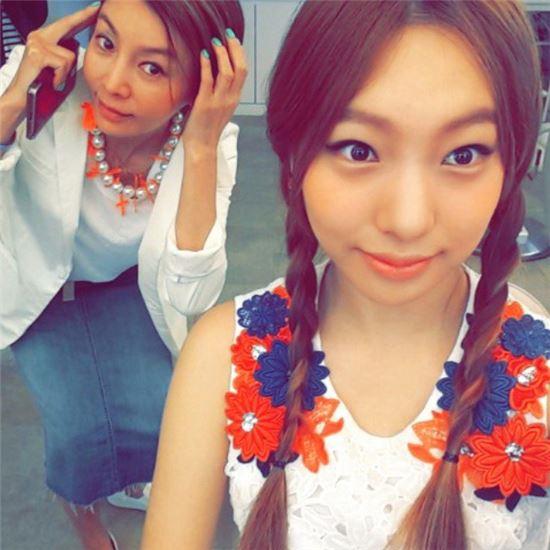황신혜와 딸 이진이. 사진=황신혜 인스타그램