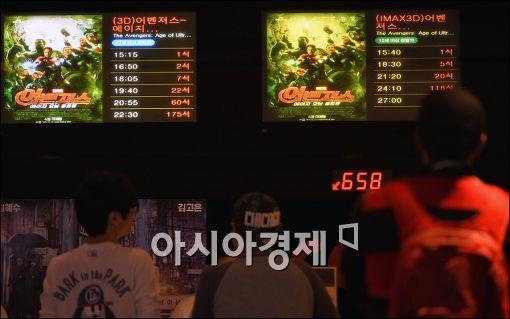 상반기 한국영화 관객 점유율 42.5%