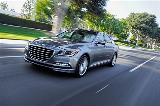 최근 미국 조사기관이 발표한 '골프 애호가를 위한 차량 Top 10'에 이름을 올린 현대자동차의 제네시스 /