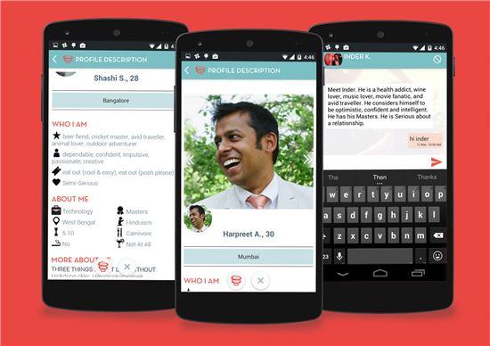중매로 결혼하던 인도인 '데이팅 앱'과 눈맞다