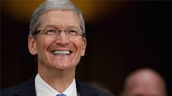팀 쿡 애플 최고경영자(CEO)