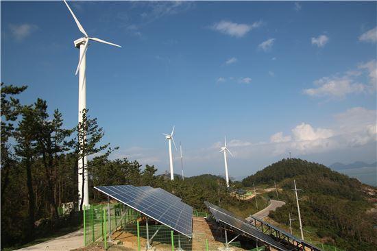 가사도 풍력·태양광발전 단지