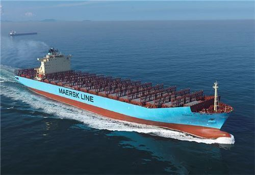 ▲대우조선해양이 건조한 컨테이너선 (기사내용과 무관)