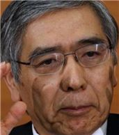 구로다 하루히코(黑田東彦) 일본은행(BOJ) 총재.