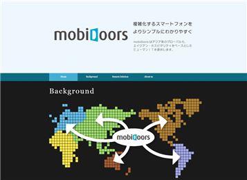 (사진 : 알서포트-NTT도코모 합작회사 '모비도어즈'의 글로벌 홈페이지)
