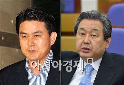 김태호 새누리당 최고위원, 김무성 새누리당 대표최고위원. 사진=아시아경제DB