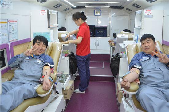 성동조선해양, '사랑의 헌혈' 실시