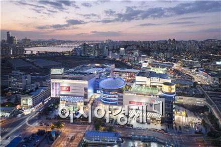 용산 아이파크몰 전경