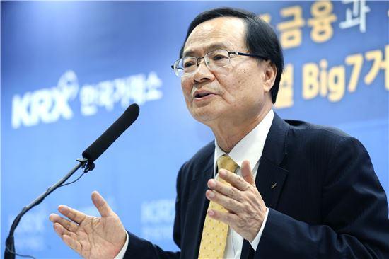 최경수 한국거래소 이사장