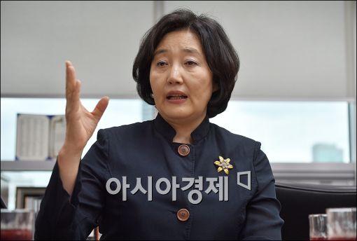 """박영선 """"당대표 요청 온다면 고민 해보겠다""""…김종인에 대한 평가는?"""