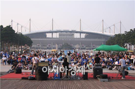 ▲ 월드컵공원 수변음악회 (사진=서울시 서부공원녹지사업소)