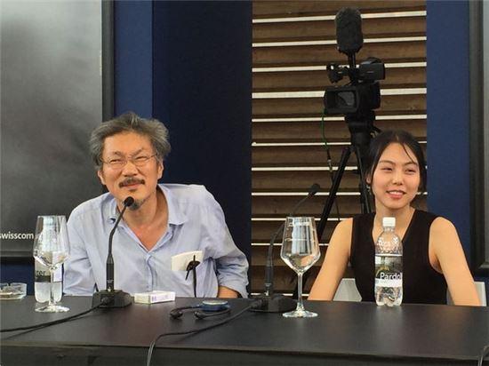 홍상수(왼쪽) 김민희. 사진=아시아경제DB
