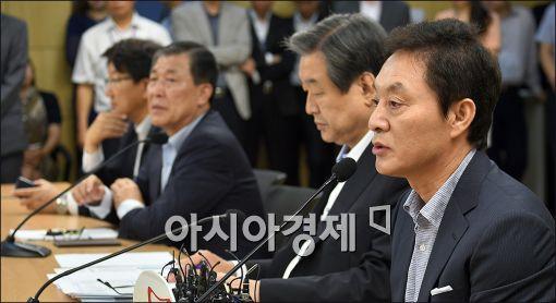 """[北 미사일 발사]與 정두언 """"외교·안보라인 사퇴해야"""""""