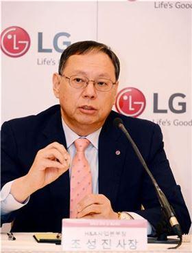 조성진 LG전자 H&A사업본부장(사장)