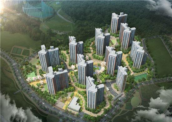 GS건설, '신동탄파크자이 1차' 견본주택 8일 개관