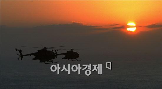 북한이 에어쇼를 위해 축하비행을 한다면  정찰용으로 사용하고 있는 H-500헬기를 띄울 가능성도 크다.