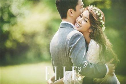 김빈우 결혼. 사진=엘르 브라이드 제공