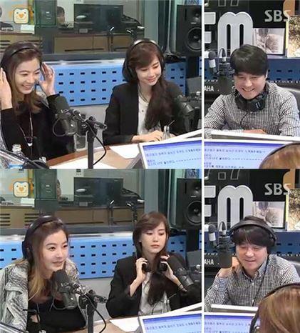 윤소이, 신현빈, 임창정. 사진=SBS 파워FM '김창렬의 올드스쿨' 보이는 라디오 화면 캡처