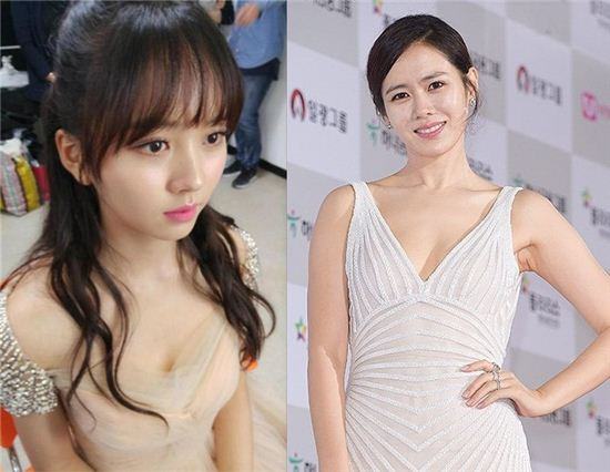 김소현(왼쪽)과 손예진(오른쪽). 사진=김소현 인스타그램, 스포츠투데이 DB