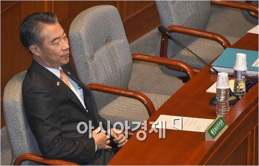 [포토]국회 출석한 정종섭 장관