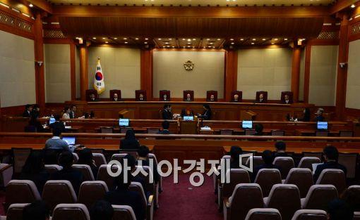 """국회선진화법 권한쟁의 '각하'…""""의원 권한 침해없어""""(종합)"""