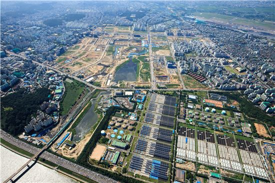 서울 마곡지구 전경