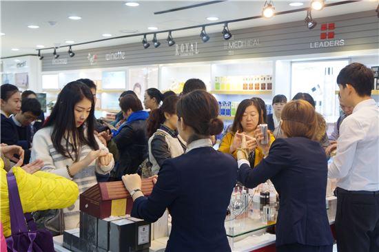 중국 화장품 참고 사진