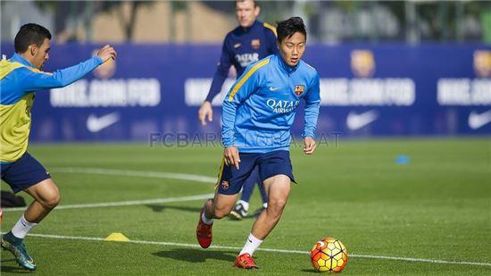 백승호 사진=FC바르셀로나 공식 홈페이지