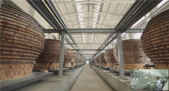 합성운모 플레이크 생산설비(자동제어 전기로)