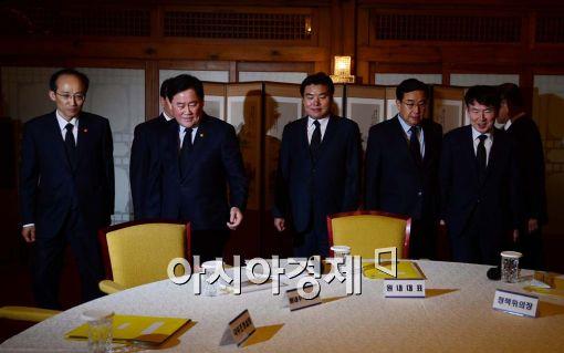 [포토]당·정·청, 노동개혁, 한중 FTA 등 논의