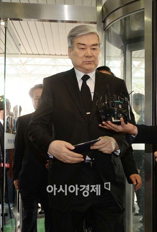 [포토]YS 빈소 찾은 조양호 한진그룹 회장